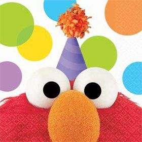 Elmo Beverage Napkins (16-pack)