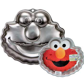Elmo Cake Pan (each) - Party Supplies