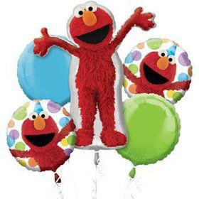 Elmo Mylar Balloon Bouquet (each)
