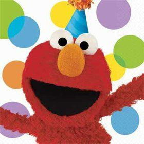Elmo Napkins (16-pack)