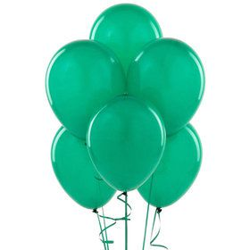 Emerald Green Latex Balloons