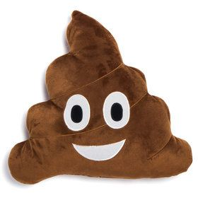 "Emoji 12"" Poop Pillow"