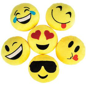 "Emoji 5"" Plush (12 Count)"