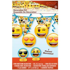 Emoji Decoration Kit (7 Pieces)
