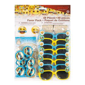 Emoji Favor Pack (48 Pieces)