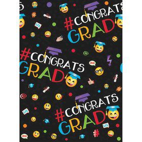 Emoji Grad Plastic Table Cover (Each)
