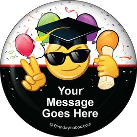 Emoji Graduation Personalized Magnet (Each)
