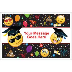 Emoji Graduation Personalized Placemat (Each)