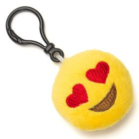 Emoji Keychain Heart Eyes