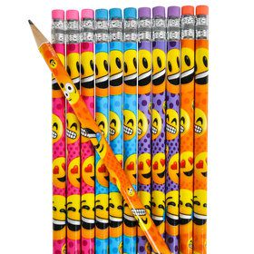 Emoji Pencils (12 Count)