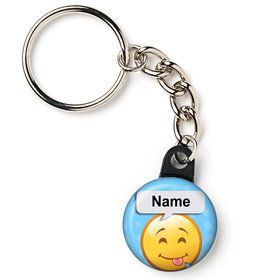 "Emoji Personalized 1"" Mini Key Chain (Each)"