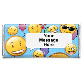 Emoji Personalized Candy Bar Wrapper (Each)