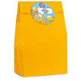 Emoji Personalized Favor Bag (12 Pack)