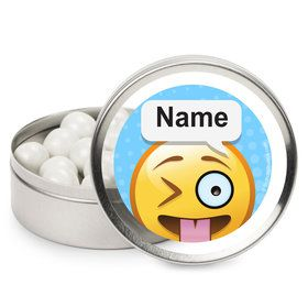 Emoji Personalized Mint Tins (12 Pack)