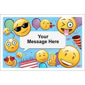Emoji Personalized Placemat (Each)