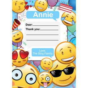 Emoji Personalized Thank You (Each)