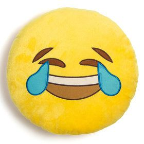 "Emoji LOL 12"" Pillow"