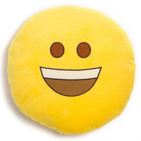 "Emoji Pillow 12"" Regular Smile"