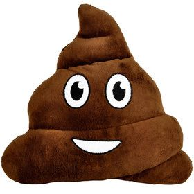 "Emoji Poop 12"" Pillow (Each)"