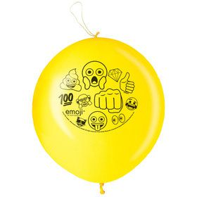 Emoji Punch Balloon (2 Count)