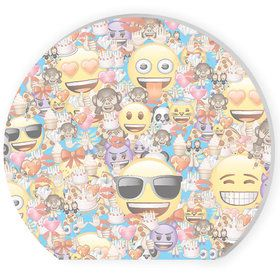 Emoji Shaped Note Pads (4 Count)
