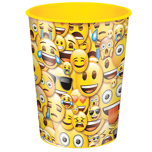 Emoji Smile 16oz Plastic Favor Cup (Each) BB50606
