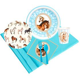 Ponies 24 Guest Party Pack