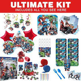 Epic Avengers Ultimate Tableware Kit (Serves 8)
