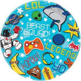 """Epic Party 7""""Dessert Plate (8)"""