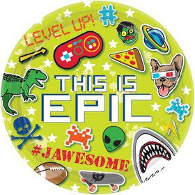 """Epic Party 9"""" Lunch Plate (8)"""