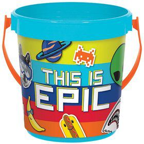 Epic Party Plastic Favor Bucket