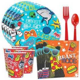Epic Party Standard Tableware Kit (Serves 8)