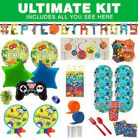 Epic Party Ultimate Tableware Kit (Serves 8)