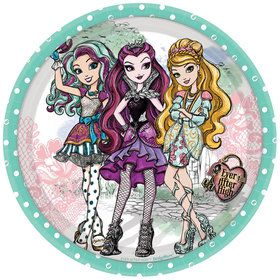 "Ever After High 7"" Cake Plates (8 Count)"