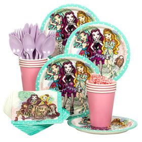 Ever After High Birthday Party Standard Tableware Kit (Serves 8)