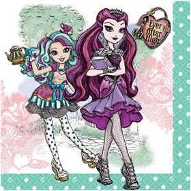 Ever After High Luncheon Napkins (16 Count)