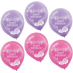 "Ever After High Printed 12"" Latex Balloons (6 Pack)"