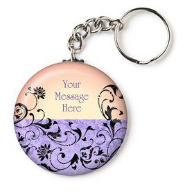 "Evil Heirs Personalized 2.25"" Key Chain (Each)"