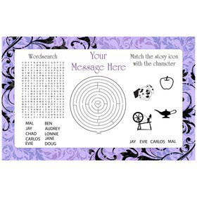 Evil Heirs Personalized Activity Mat (8 Count)