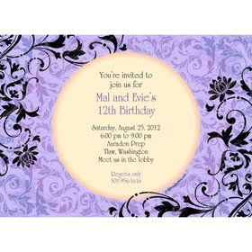Evil Heirs Personalized Invitation (Each)