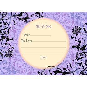 Evil Heirs Personalized Thank You (Each)