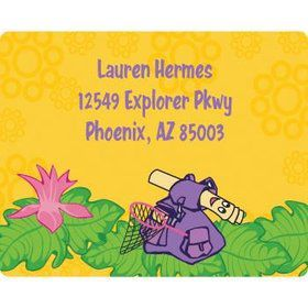 Explorer Friends Personalized Address Labels (sheet of 15)