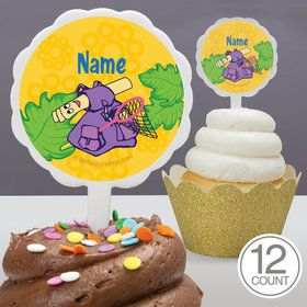 Explorer Friends Personalized Cupcake Picks (12 Count)