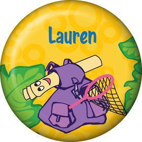 Explorer Friends Personalized Mini Button (Each)