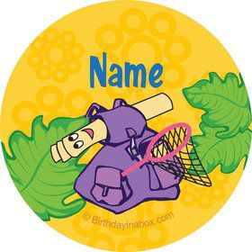 Explorer Friends Personalized Mini Stickers (Sheet of 24)
