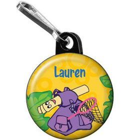 Explorer Friends Personalized Mini Zipper Pull (each)