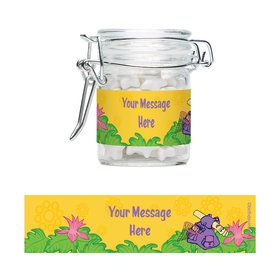 Explorer Friends Personalized Swing Top Apothecary Jars (12 ct)