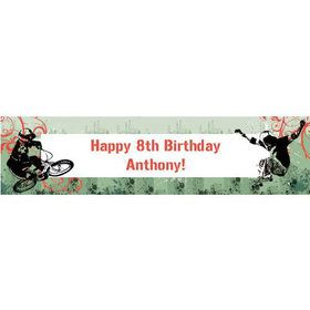Extreme Sports Personalized Banner (each)
