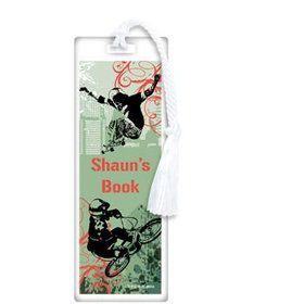 Extreme Sports Personalized Bookmark (each)