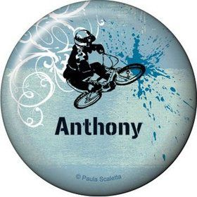 Extreme Sports Personalized Button (each)